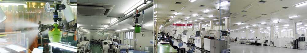 AirAKI system with Dry Fog humidifier
